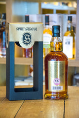 Springbank 21 year old Campbelltown Back