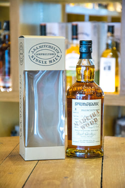 Springbank Madeira Wood 11 year old Whisky Front