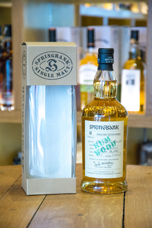 Springbank Rum Wood Single Malt Whisky Front