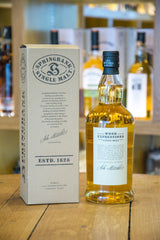Springbank Rum Wood Single Malt Whisky Back