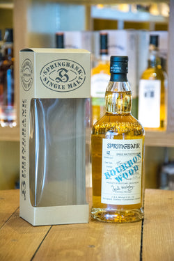 Springbank Bourbon Wood Cask Strength Whisky Front