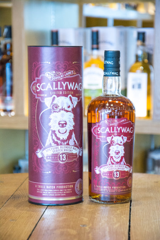 Scallywag Limited Edition Speyside Blended Malt Scotch Whisky Aged 13 years Front
