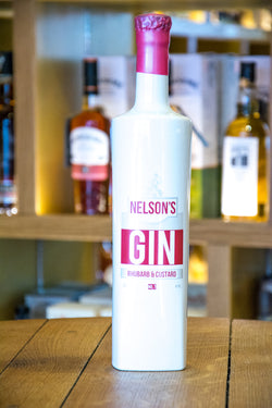 Nelson's Gin - Rhubarb and Custard Front