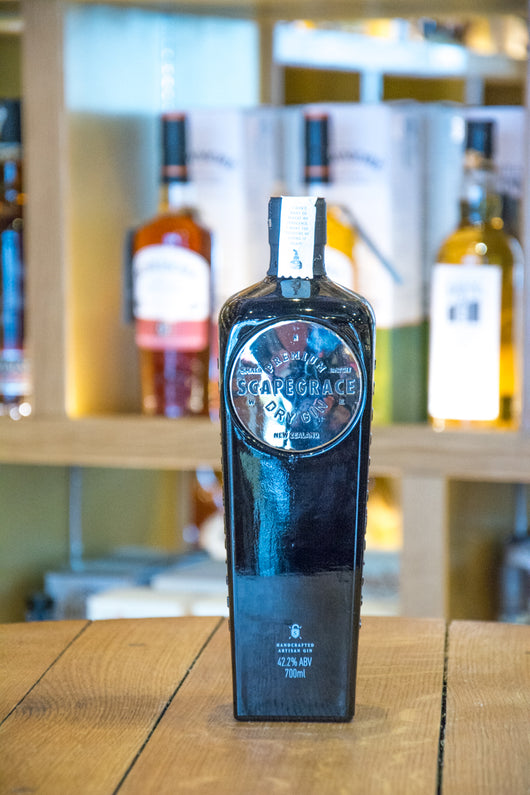 Scapegrace Premium Dry Gin from New Zealand Front