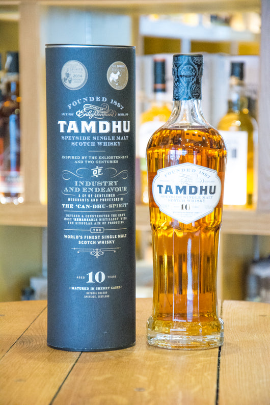 Tamdhu 10 year Speyside Single Malt Scotch Whisky Front
