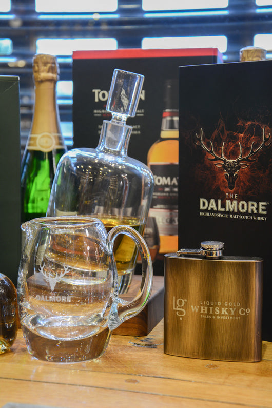 dalmore whisky with special glass
