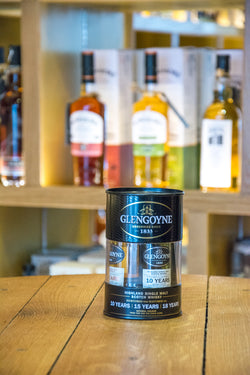 Glengoyne Triple bottle set - 10 year, 15 year and 18 year miniatures