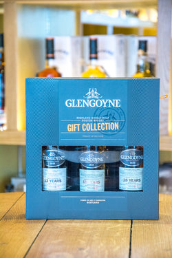 Glengoyne Gift Collection, 12, 15 and 18 year old whisky