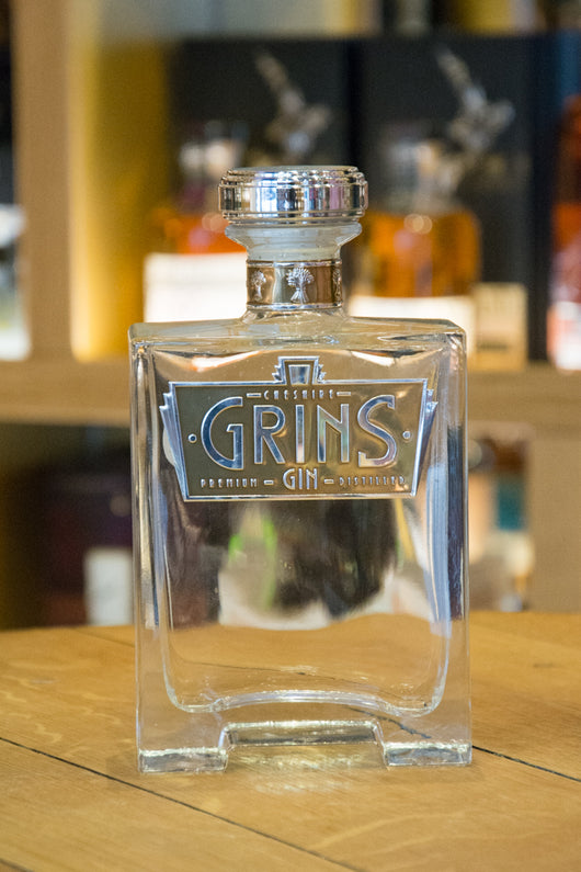 Cheshire Grins Gin 70cl 43% ABV