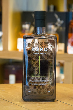 Kuro London Dry Gin Front