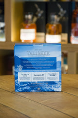 Talisker Skye Whisky gift set of three Back