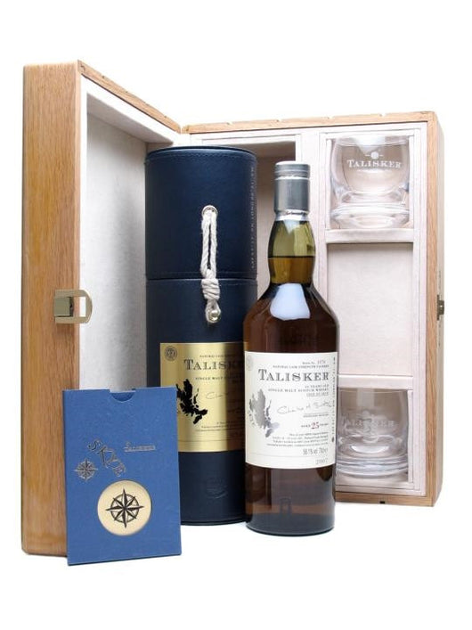 Talisker 25 Sea Chest Gift Set