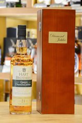 Littlemill 21 Year Old Hart Brothers - Queen's Diamond Jubilee Back