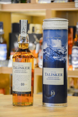 Talisker 10 Year Old Front