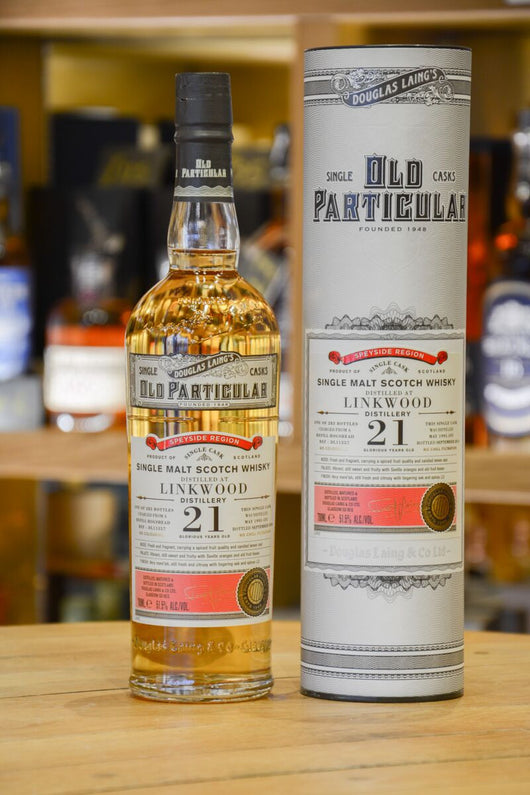 Linkwood 1995 21 Year Old - Old Particular Front
