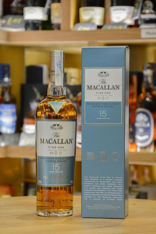 Macallan 15 Year Old Fine Oak Front