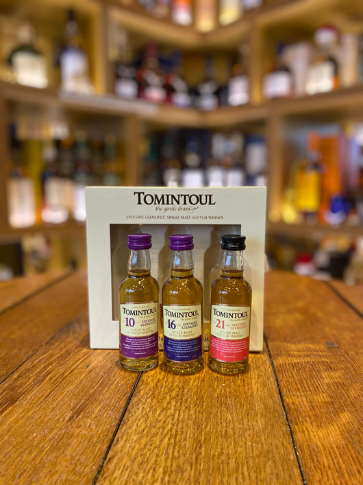 Tomintoul Triple-Pack 10 Yrs, 16 Yrs & 21 Yrs