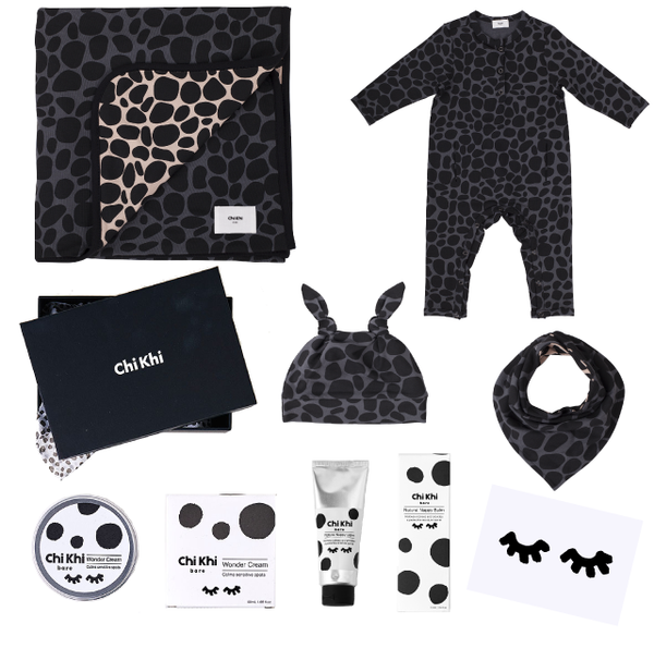 Deluxe Chillax Pack - Snow Leopard Grey