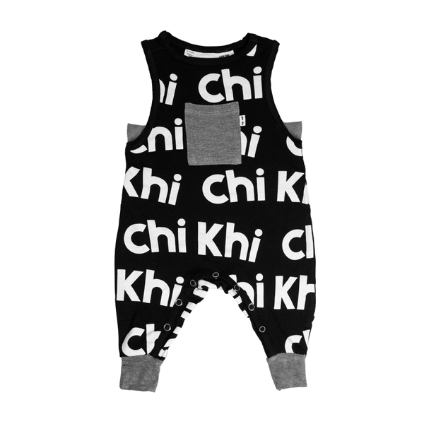 Relaxed Onesie - Black