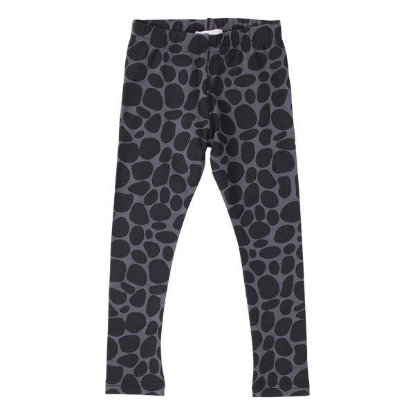 Lola Leggings - Snow Leopard Grey