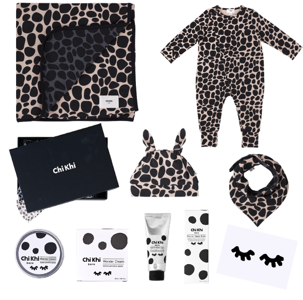 Deluxe Wrap Me Up Pack - Snow Leopard Blush