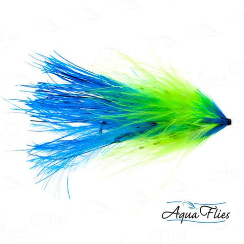 Hartwick's Flashtail Tube-Blue/Chartreuse