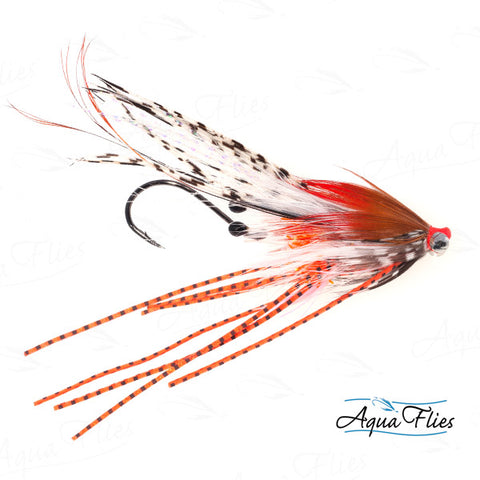 Foxall's PrawnTruder Tube-White/Orange