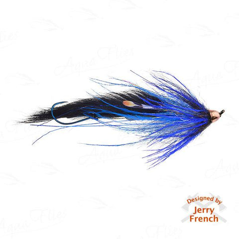 Jerry's Dirty Hoh-Steelhead, Black/Blue