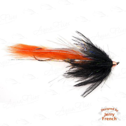 Jerry's Dirty Hoh-Steelhead, Black/Orange