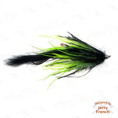 Jerry's Dirty Hoh-Chinook, Black/Chartreuse