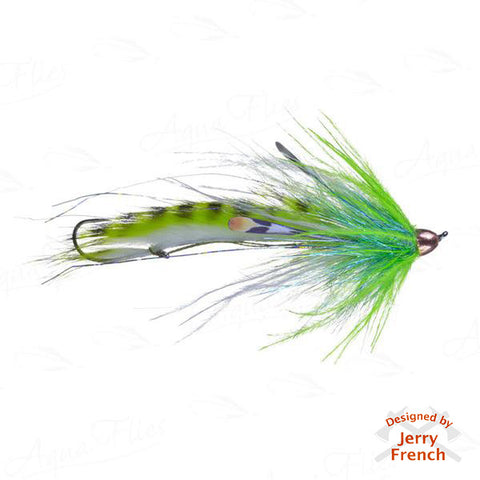 Jerry's Dirty Hoh-Chinook, Chartreuse/White
