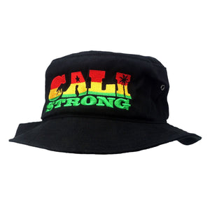 CALI Strong State Rasta Bucket Hat - Bucket Hat - CALI Strong
