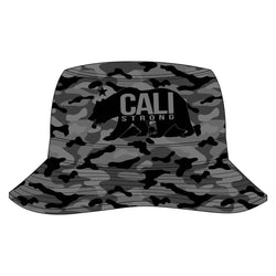 CALI Strong Urban Camo Grey Bucket Hat - Bucket Hat - CALI Strong