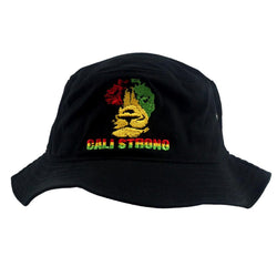 Triangle Rasta Bucket Hat - Bucket Hat - CALI Strong