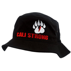 CALI Strong Bear Claw Bucket Hat