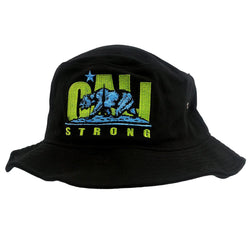 CALI Strong Original Lime Bucket Hat - Bucket Hat - CALI Strong
