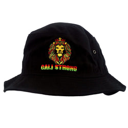King Rasta Bucket Hat - Bucket Hat - CALI Strong