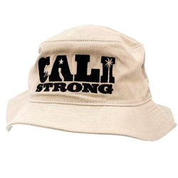 CALI Strong State Mono Tan Bucket Hat - Bucket Hat - CALI Strong