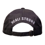 CALI Strong Classic Dad Hat Black Silver - Dad Hats - CALI Strong