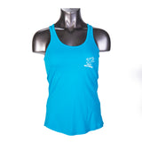 Boarding Bear Performance Tank Top Turquoise Glow - Tank Top - CALI Strong