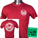 CSC Classic Performance T-shirt Red Glow - T-Shirt - CALI Strong