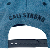 CALI Classic Blue Heather Flat Bill Snapback - Headwear - CALI Strong