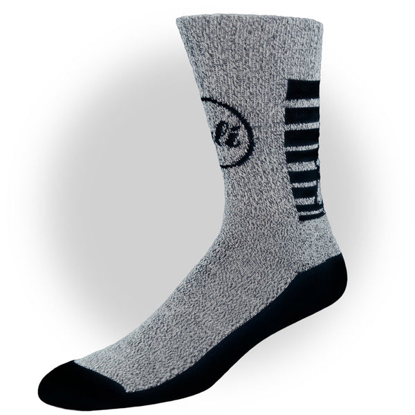 CALI Classic Grey Heather Socks - Socks - CALI Strong