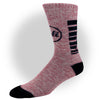 CALI Classic Red Heather Socks - Socks - CALI Strong