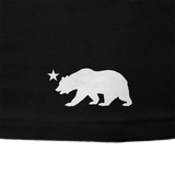 CALI Strong See Thru Bear Glow T-shirt Black - T-Shirt - CALI Strong