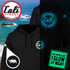 CSC Classic Glow In The Dark  Hoodie Sweatshirt Black - Hoodie - CALI Strong