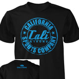 CSC Classic Prime T-shirt Black Blue - T-Shirt - CALI Strong