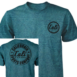 CSC Classic Performance T-shirt Heather Teal Black - T-Shirt - CALI Strong