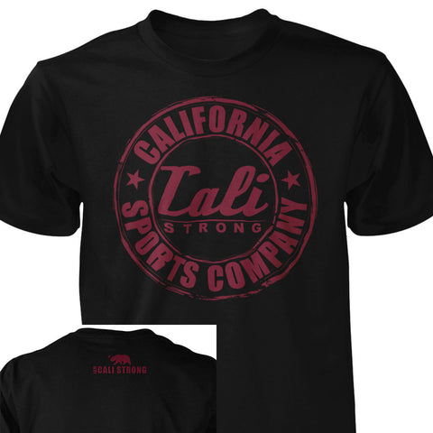 CSC Classic Prime T-shirt Black Red - T-Shirt - CALI Strong