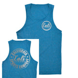 CSC Classic Tank Top Heather Blue Reflective - Tank Top - CALI Strong